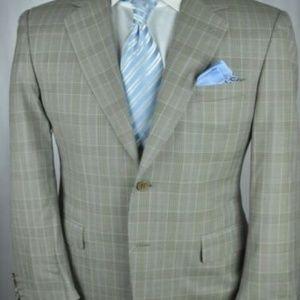 Canali Suits & Blazers - CANALI Italian Gray Modern 2Btn Sport Jacket